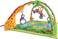 Fisher Price Rainforest Melodies And Lights Deluxe Gym (Multicolor)