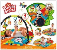 Bright Starts BRight Starts BAby Zoo Tails (Multicolor)