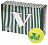 Vicky Cricket Tennis Balls (pack Of 6) Standard Bail (Pack Of  6)