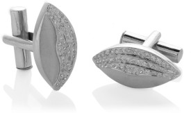 Voylla Sterling Silver Cufflink (Silver) - CTPDYGMDNYFPA936