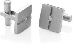 Voylla Sterling Silver Cufflink (Silver) - CTPDYGMD7M9GGERY