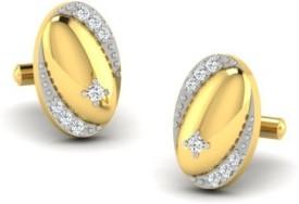His & Her Gold Cufflink