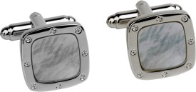 Gildermen Metal Cufflink Silver - CTPE5HYUKZHFUVSZ