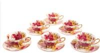 Zars Bone China Tea Sets Z-1450A-19-6 (White, Pack Of 12)