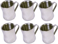 Dynamic Store Set Of 6 Double Wall Dhol Cups DS_109 (Steel, Pack Of 6)
