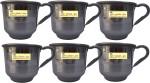 SSA Stainless steel 6 mug for tea serving purpose