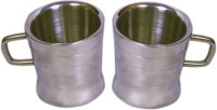 Dynamic Store Set Of 2 Double Wall Milano Cups DS_143 (Steel, Pack Of 2)