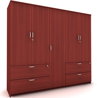 Housefull MARC 5D W/DRAWER WARD Engineered Wood Almirah available at Flipkart for Rs.23170
