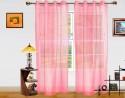 Dekor World Elegant And Exquisite Sheer Door Sheer Curtain