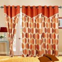 Cortina Flora Door Curtain - Pack Of 2 - CRNDYTKJ5EVGYY2A