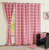 Swayam Satin, Silk Multicolor Door Curtain 90 Inch In Height, Single Curtain - CRNE6QHKT6AYSCY5