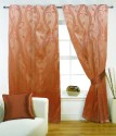 FABUTEX Jacquard Weave Curtain Door Curtain