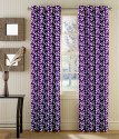 TT Polyster Printed Door Curtain