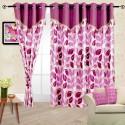 Cortina Flora Door Curtain - Pack Of 2 - CRNDYWQ2FGNGCATC