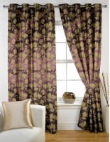 Story @ Home Jacquard Door Curtain (213.36 Inch In Height) - CRNEYHY3FMHHGB8Z