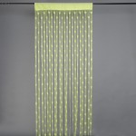 Gift Palace Gift Palace Net Green Embroidered Door Curtain