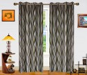 Dekor World Waves In The Air Window Curtain - Pack Of 2