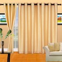 Cortina Plain Crush Door Curtain - Pack Of 2 - CRNDXV33DZHP7QUQ