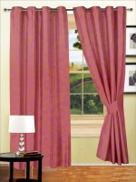 Story @ Home 100% Polyester Door Curtain (Pack Of 2, 213.36 Inch In Height) - CRNEFVKXDCKKZDCT