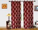 Dekor World Intricate Damask Door Curtain - CRNDQAY6BGNVXQ42