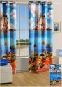Swayam Digitally Printed Cosmo Fashion Window Curtain - CRNDUH4AGP8CT9AG