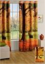 Swayam Digitally Printed Cosmo Fashion Window Curtain - CRNDUH4ACGHFWYBD