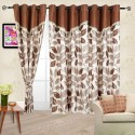 Cortina Flora Window Curtain - Pack Of 2