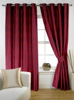 Story @ Home 100% Polyester Window Curtain (Pack Of 2, 59 Inch/150 Cm In Height) - CRNE4ES9JKKXCFET