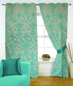 Fabutex Jacquard Weave Curtain Door Curtain - CRNEYHP4HQKGBFGG