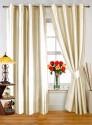 Dekor World Plain Ivory Door Curtain