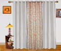 Dekor World Altra Color Collection Window Curtain - Pack Of 3