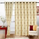 Cortina Flora Window Curtain - Pack Of 2 - CRNDYTKJZ5HAFXHQ