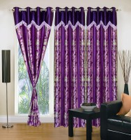IWS Playing With Colors Window Curtain (Pack Of 3)