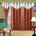 Cortina Plain Drape Door Curtain - CRNDW2PZ4YGPHYR9
