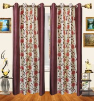 Decor Bazaar 100% Polyester Door Curtain (215 Inch In Height)