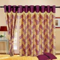 Cortina Fancy Candy Door Curtain - Pack Of 2 - CRNDXV33XTPX2GKN