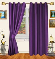 Decor Bazaar Violet Stream Window Curtain