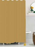 Bianca Cotton Brown Shower Curtain 180 Cm In Height, Single Curtain - CRNE6P4HXKPGEGNX