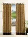 Mahamantra Jacquard Floral Design Fabric (25 Meters) Window Curtain
