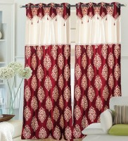 Hargunz 100% Polyester Door Curtain (Pack Of 1, 84 Inch/214 Cm In Height)