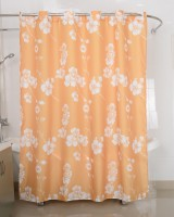Freelance PVC Multicolor Shower Curtain 200 Cm In Height, Single Curtain