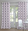 TT Poly Jucquard Weave Printed Door Curtain - Pack Of 2 - CRNEYYXABECUWHHY