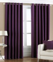 Hargunz Crush 7 Feet Door Curtain (Pack Of 2) - CRNEFGEVSAVRDZKE