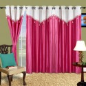 Cortina Plain Drape Door Curtain