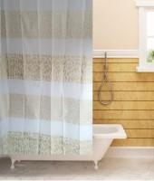 Tjar PVC Shower Curtain (170 Cm In Height, Single Curtain, Multicolor) - CRNE6FFFTBZB9HZX