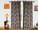 Dekor World Waves In The Air Door Curtain - Pack Of 2 - CRNDXM38ZAJMZ8GK