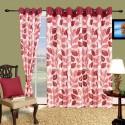 Cortina Flora Window Curtain - Pack Of 2 - CRNDYTKJXGX2ZMRS