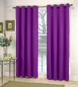 Fabutex Plain Door Curtain - CRNDWZ675SKBRKCF