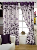 Story @ Home Jacquard Red Window Curtain 152 Cm In Height, Single Curtain