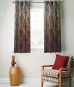 FABUTEX Jacquard Weave Curtain Window Curtain